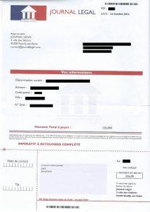 arnaque-journal-legal-creation-entreprise