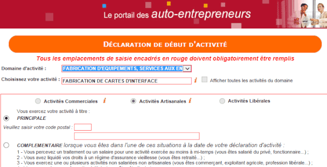 Inscription Auto Entrepreneur En Ligne Video