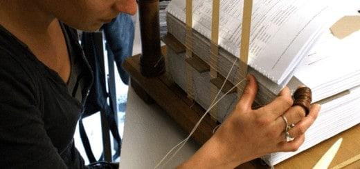s'installer relieur atelier reliure