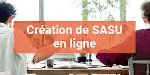 Création d'une SASU en ligne