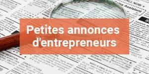 Petites annonces d'entrepreneurs