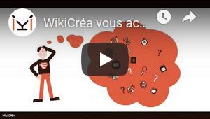 Vidéo de présentation WikiCréa sur YouTube